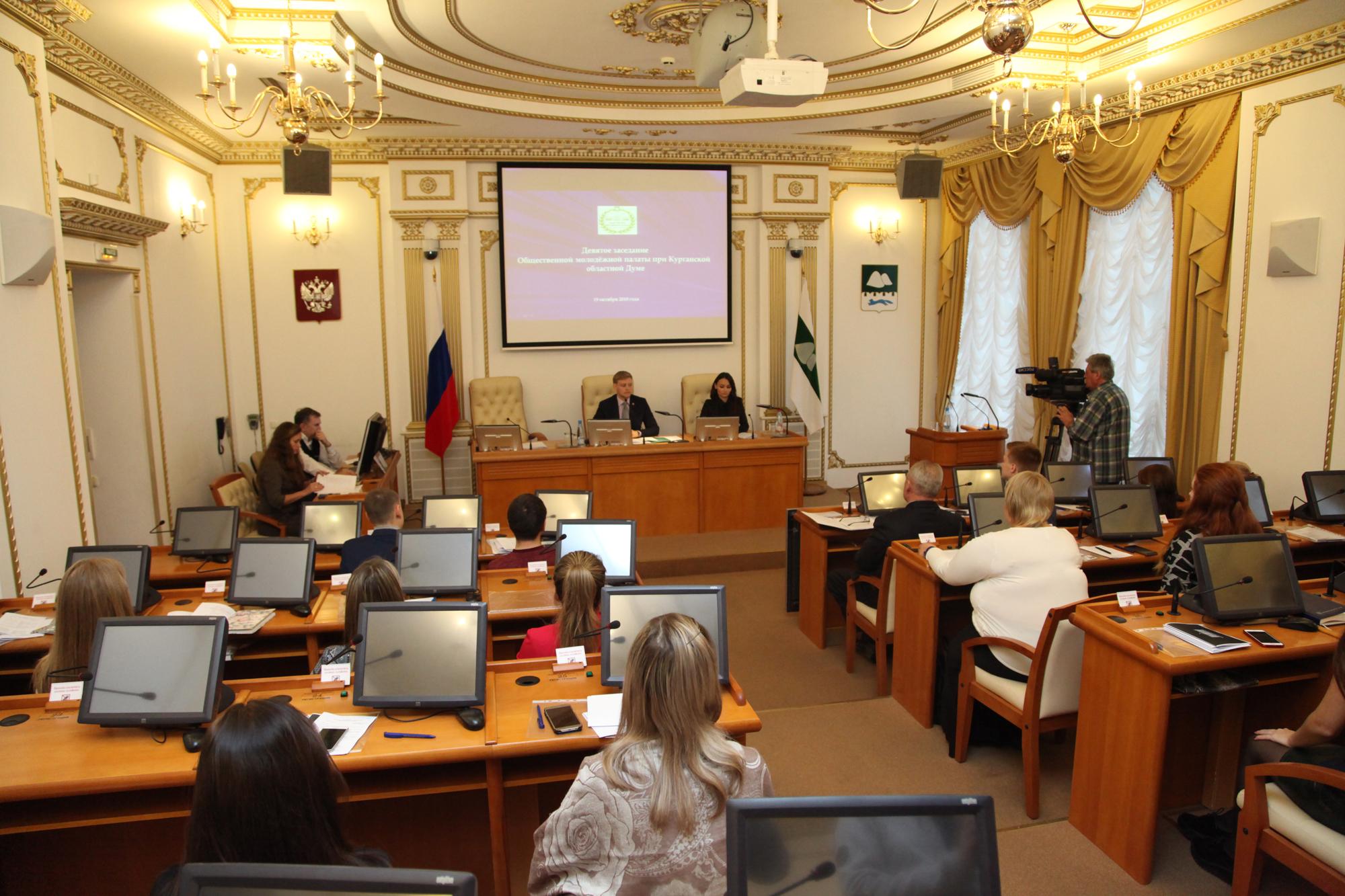 Молодые парламентарии обсудили итоги и перспективы работы