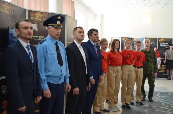 Экспозиция «Молодые герои Победы» открылась в Кетовском районе