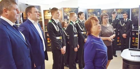 Молодые герои Победы в Половинском районе