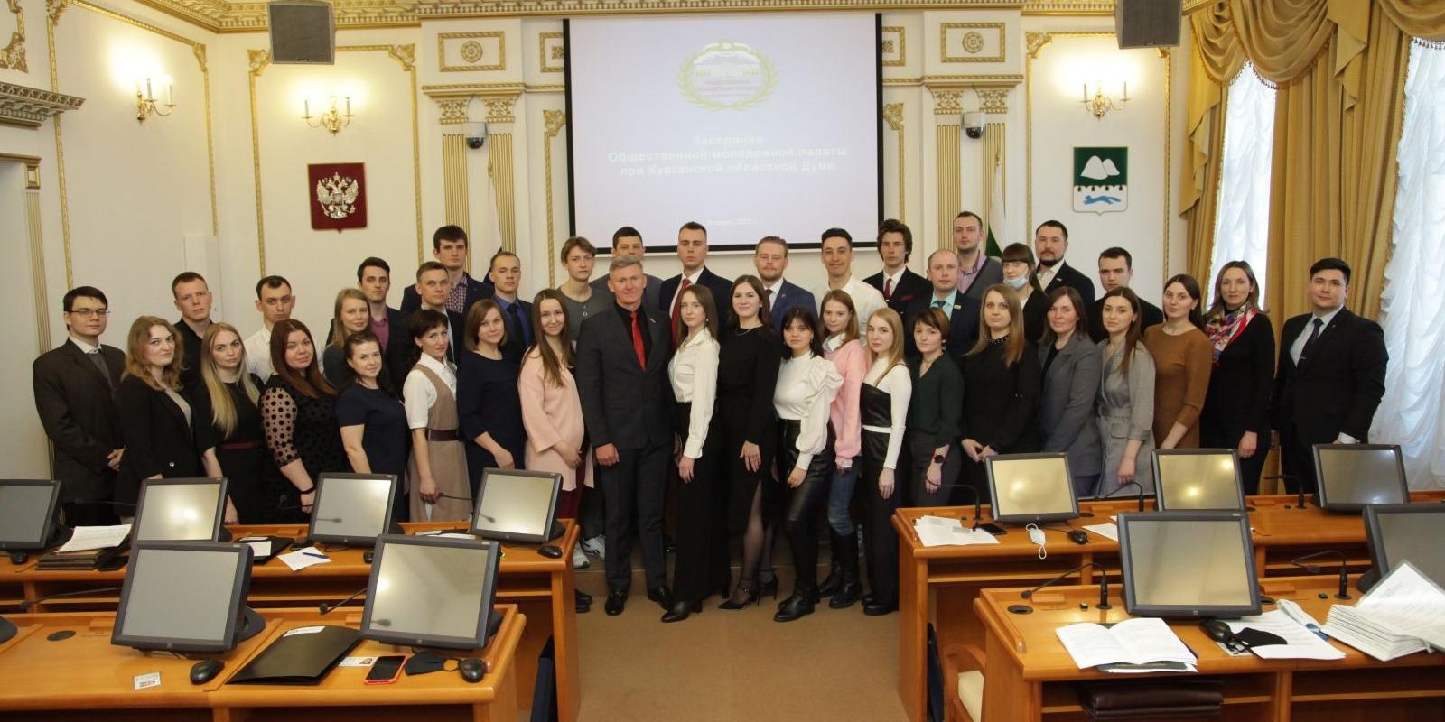 Новые горизонты в работе молодежного парламента